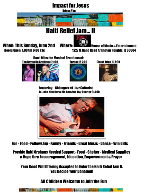 Impact For Jesus - Haiti Relief Jam II Smaller