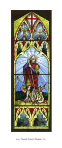 St. George window