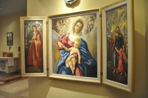 SVHS triptych