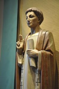 St. Viator statue