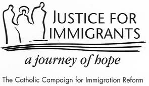 Justic for immigrants logo