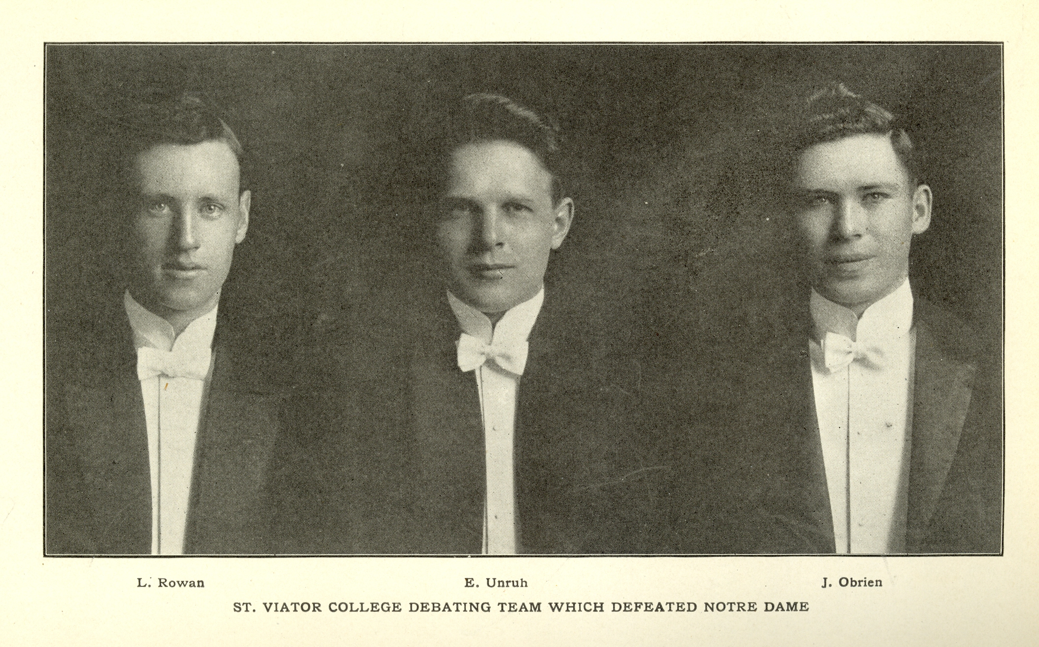 The Class of 1913
