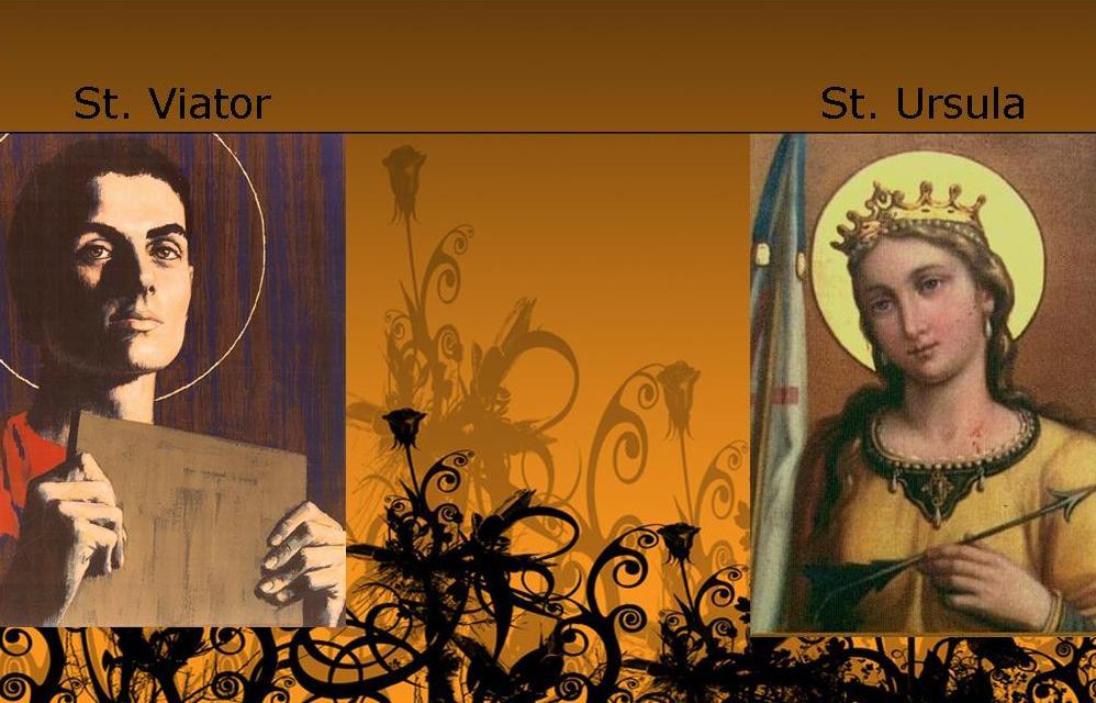 St. Ursula and St. Viator