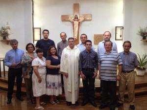family of novice Elkin Mendoza