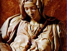 Mary in Pieta