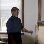 Jose Ignacio Montoya-Mora serves as the evening house manager at the Men's House
