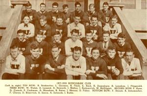 St. Viator College 1937-38 Monogram Club