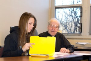 Fr. Perham, Nina Byskosh