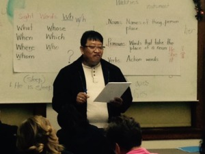 Teaching ESL Class