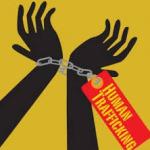 human trafficking illustration
