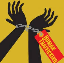 human trafficking illustration