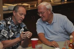 Br. Rob Robertson and Fr. Bill Haesaert