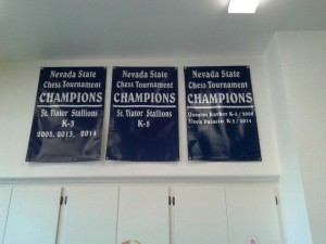 chess banners