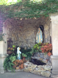 Maternity BVM grotto