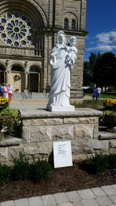 St. Mary Beaverville statue