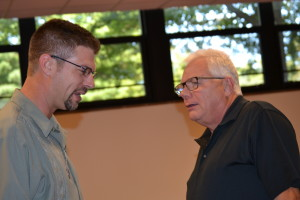 Br. John Eustice, CSV and Associate Randy Baker