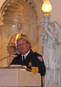 Fire Chief Ron Young