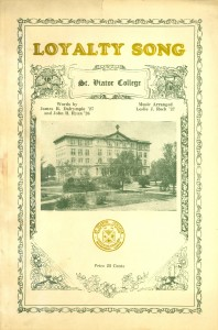 St. Viator College Loyalty Song, circa 1925
