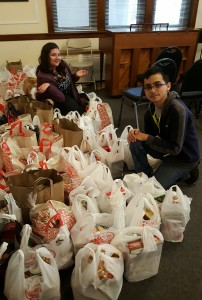 St. Viator food drive