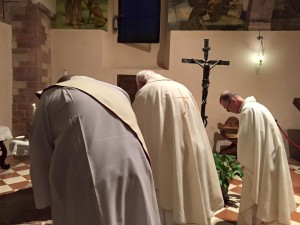 opening of a private Mass
