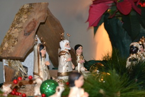 Nativity set crafted in Mexico, given to Fr. Arnold Perham