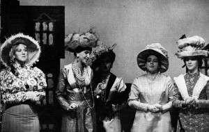 Kate Costello, second from left, plays Maud Dunlop in the 1968 production of Music Man