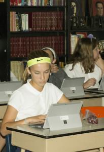 BVM laptop students