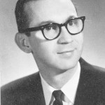 Br. Don Houde in 1967, as an English teacher at Spalding Institute