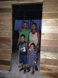 Belizean family