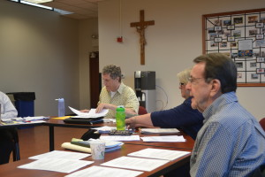 Fr. Patrick Render, CSV, chairs the Viatorian Community Council