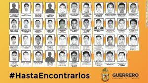 Missing Mexican student teachers