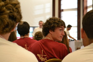 Connor Romenesko served as a leader at the 2012 Viatorian Youth Congress --- and he hasn't looked back