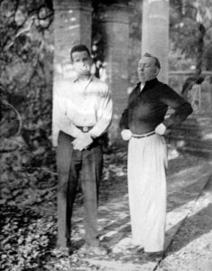 Fr. Eugene Lutz, CSV, and Br. Leo Ryan, CSV, shortly after entering the Viatorian Community