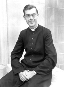 Fr. Robert Spiekerman, CSV, as a young novice, circa 1947