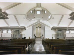 Artist rendering of renovated interior
