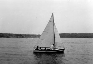 Sailing Noah's Ark on the waters of Pistakee Bay offered seminarians a breath of fresh air during their seminary years