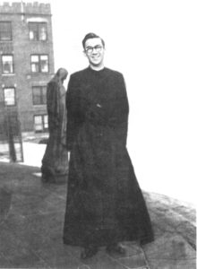 Br. Houde as a novice in 1951