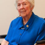 Sr. Ann Sharp, OSB, celebrated 75 years of religious life in 2014