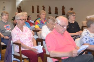 Sisters of the Living Word and Viatorians prayed together