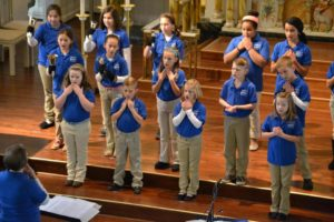 Mustard Seeds Children's Choir Rehearse at Maternity BVM Parish