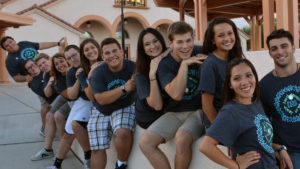 Daisy Morales, second from right, and Nick Smeriglio, right, co-led the 2014 Viatorian Youth Congress