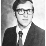 Fr. Mark Francis, CSV, in his 1971 graduation photo from SVHS