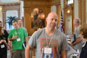 Associate Paul Hartz at the 2012 Viatorian Youth Congress