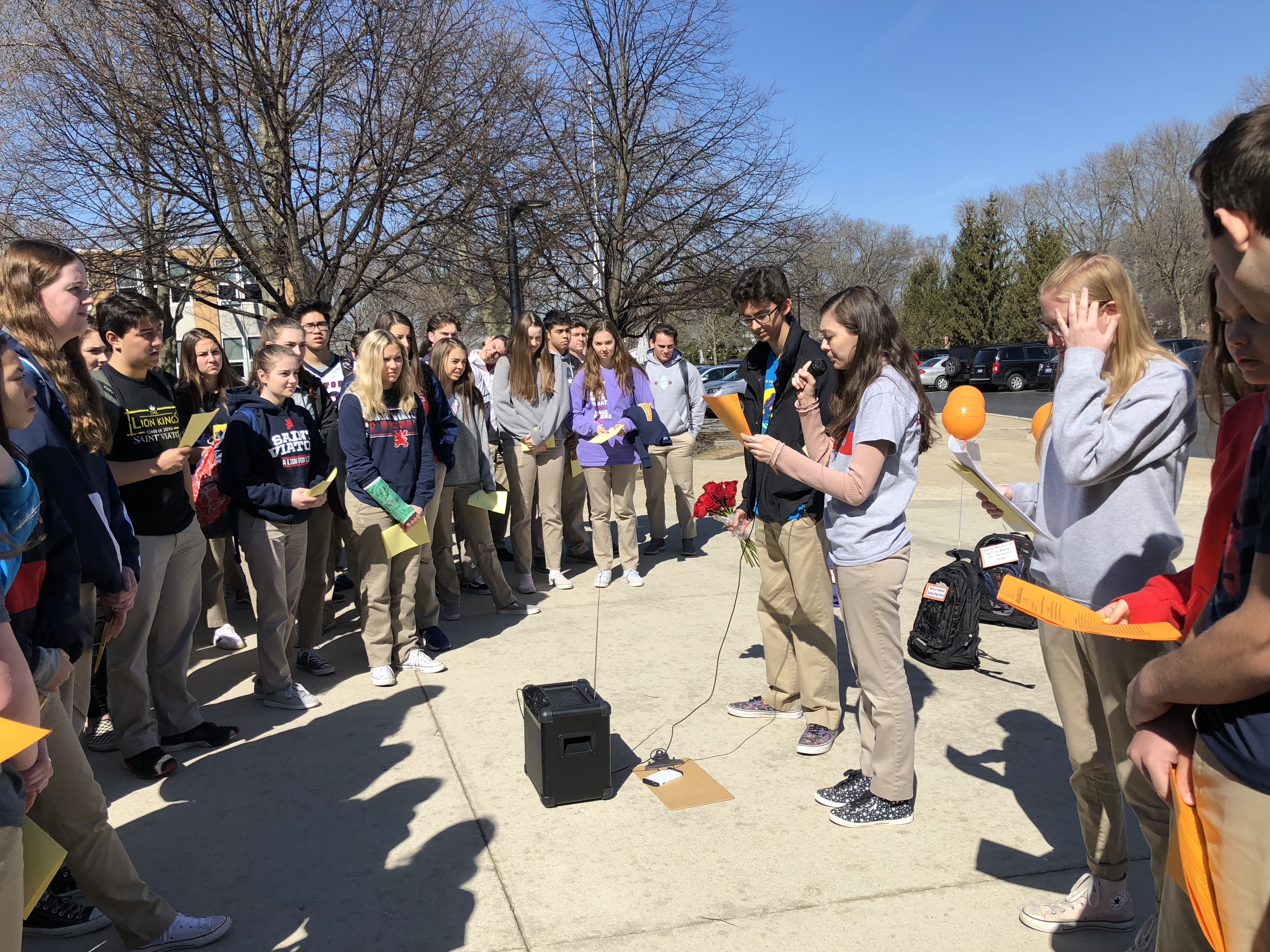 Viatorian Mission at Heart of Student Walkout