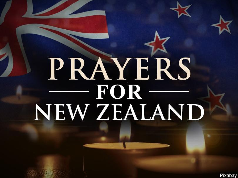prayers for New Zealand