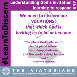 11.05.19 – #LearnToDiscern 2a vocation definition