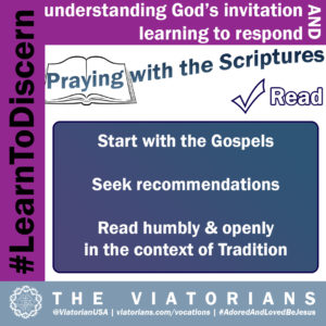 12.10.19 – #LearnToDiscern 3m Scriptures I