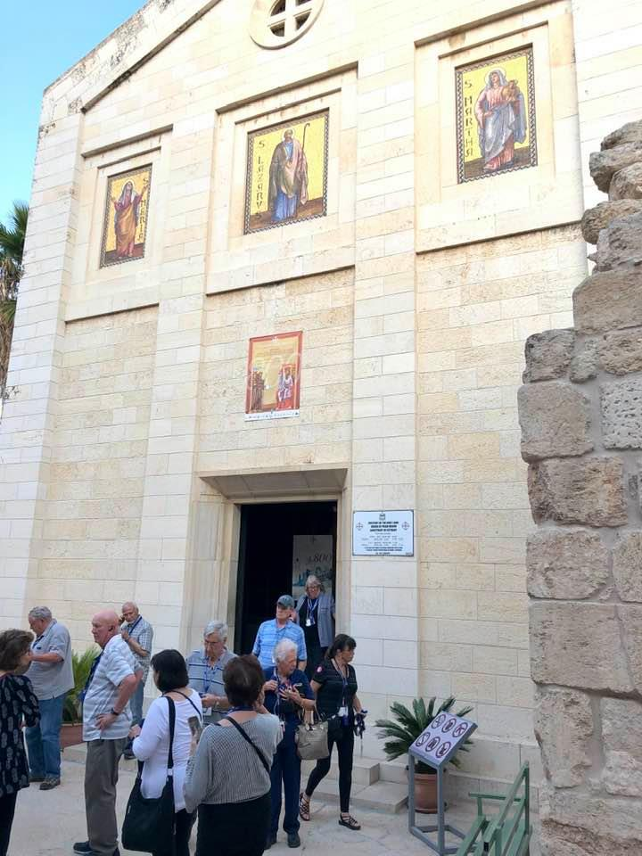 Church above Lazarus' Tomb Bethany