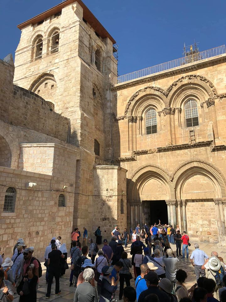 Church of the holy sepulchre_site of crucifixion
