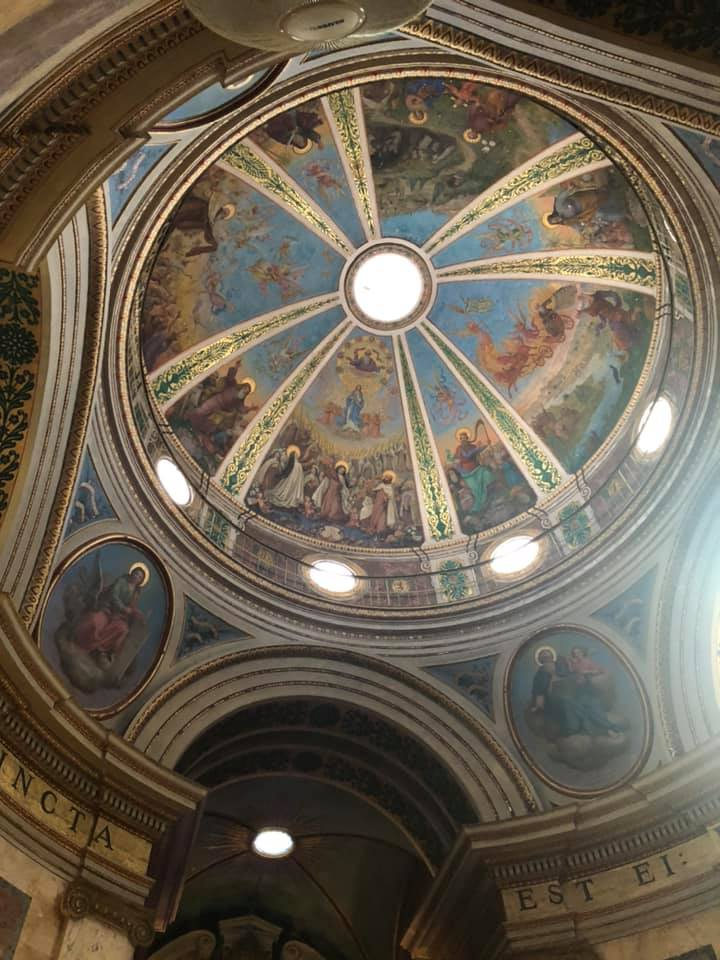 Dome at Stella Maris Monastery